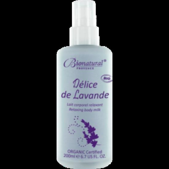 Bionatural Délice de Lavande - Relaxáló, könnyű testápolótej