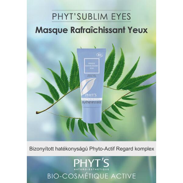 Masque Rafraichissant Yeux - Simító, tonizáló szemmaszk