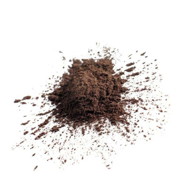 barna színű bio selyempor