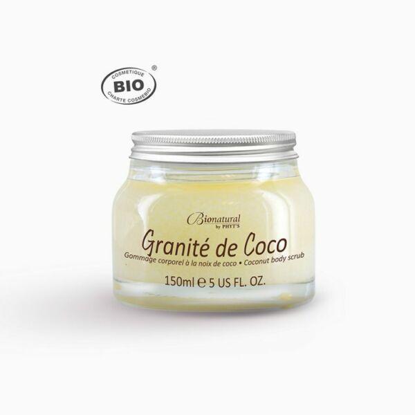 Bionatural Granité de Coco - Gyengéd kókuszrostos testradír